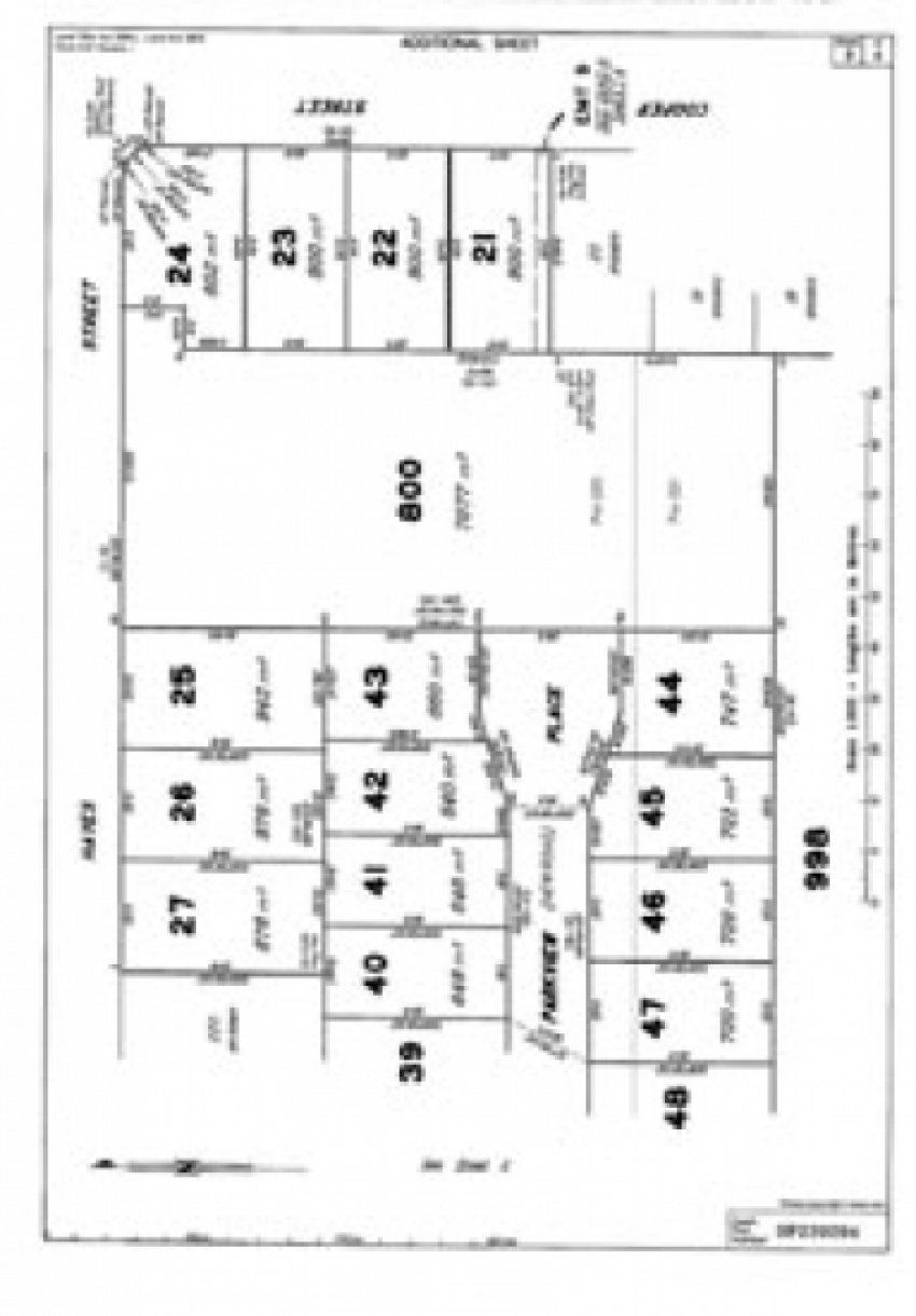 Laidley Lot 25 Map