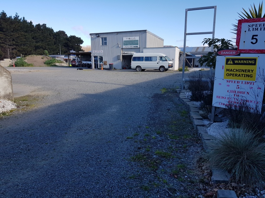 For Lease - Industrial Yard plus Office and Storage