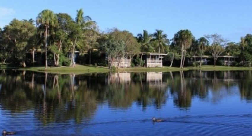 Quiet waterfront villa in Hervey Bay