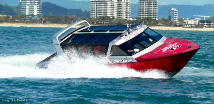 Mooloolaba Jet Boat Thrill Ride Business