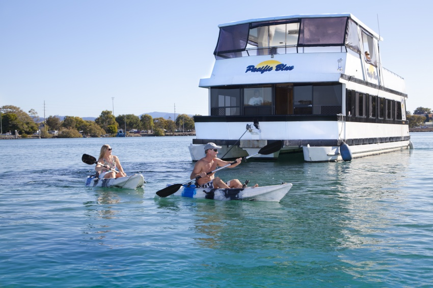The best houseboat holiday business on the Tweed River