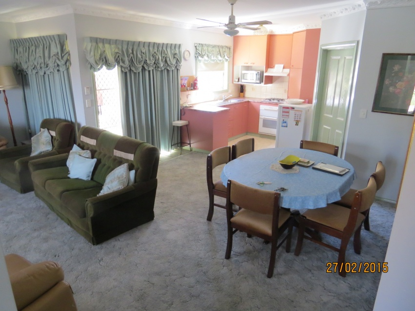 Unit Living area