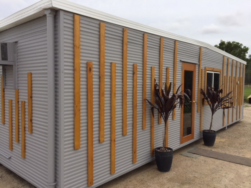 Demountable Granny Flats / Portable Cabins / Transportable Buildings / Tiny House Living 12m x 3m