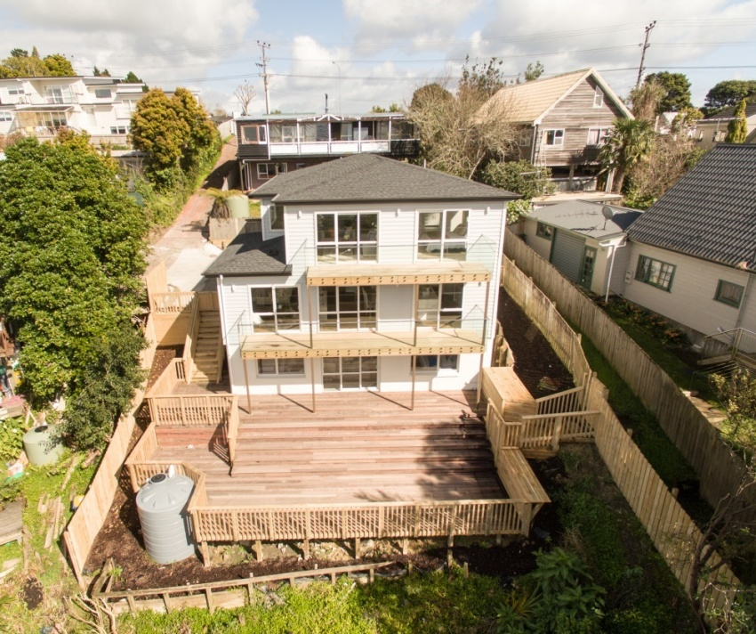 Brand-new six bedroom home with secondary income potential