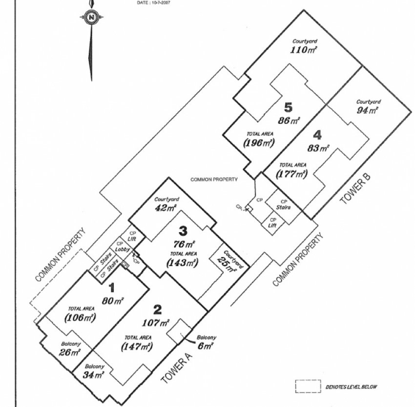 Kelvin Grove Unit Floorplan