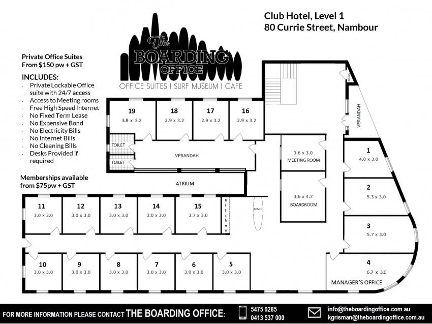 The Boarding Office Club Hotel Nambour