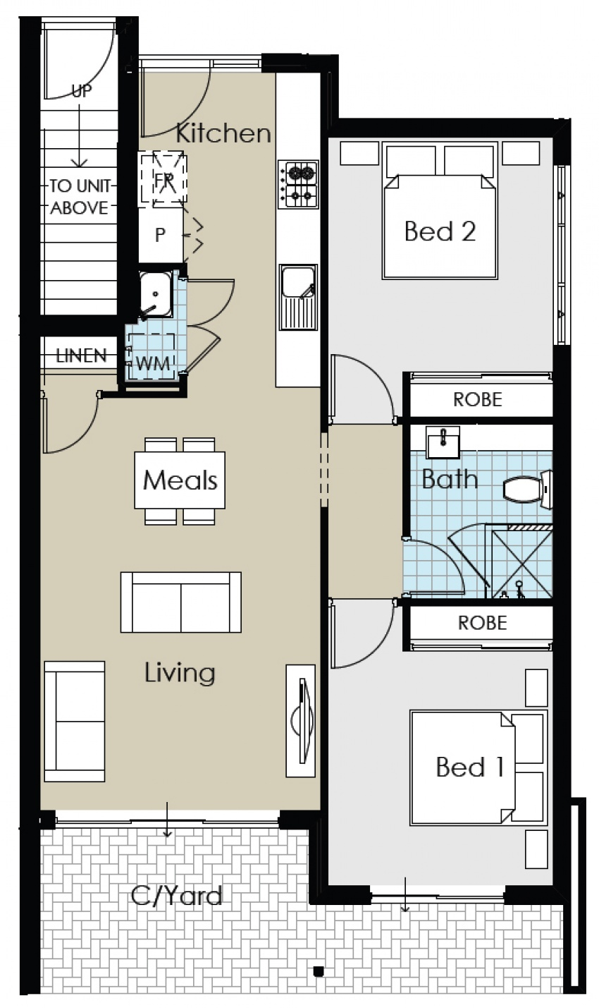 Unit 9 - Brand New Positive Cashflow Apartment