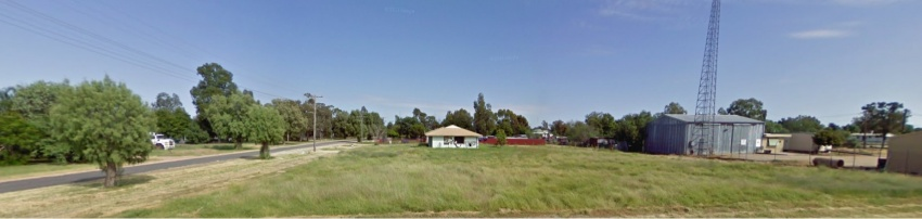 Vacant Land on the Main Street of Mungindi.