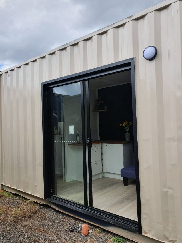 21ft Long High Cube Container Home