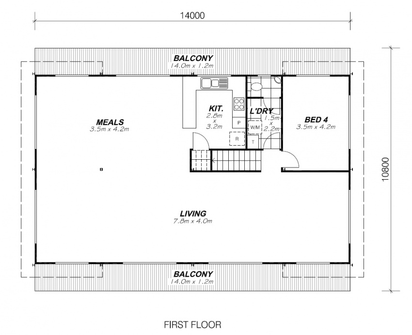 COOLUM FIRST FLOOR PLAN