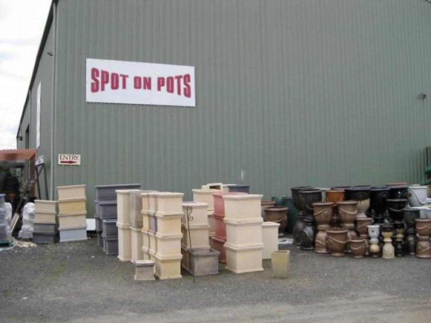 Spot on Pots
