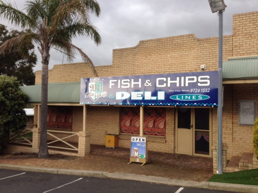 SOLD - Muzza's Fish & Chip Shop