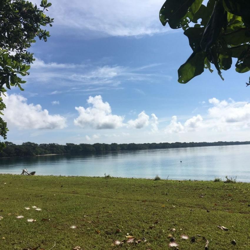 Aore Island land 2