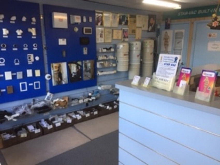 Star Vac Shop Inside