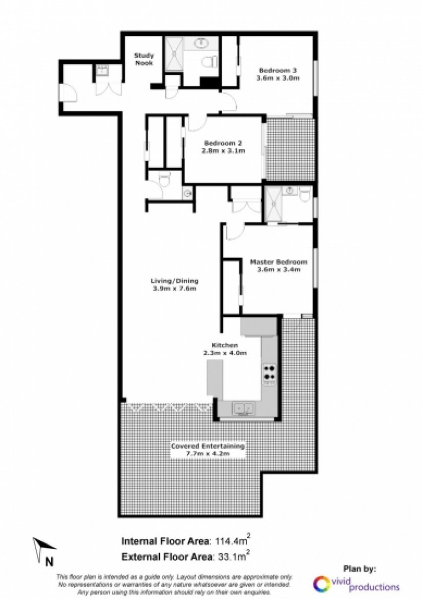 Kelvin Grove Unit 2 Floorplan