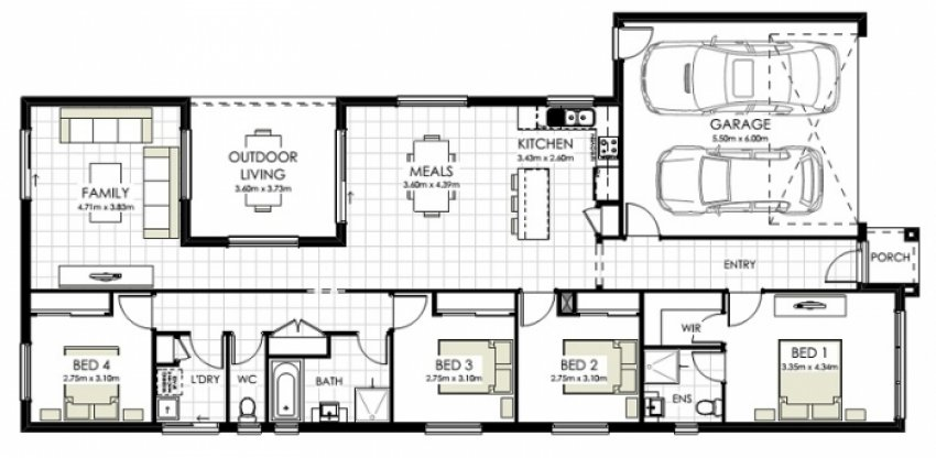 Lancefield Property Floorplan