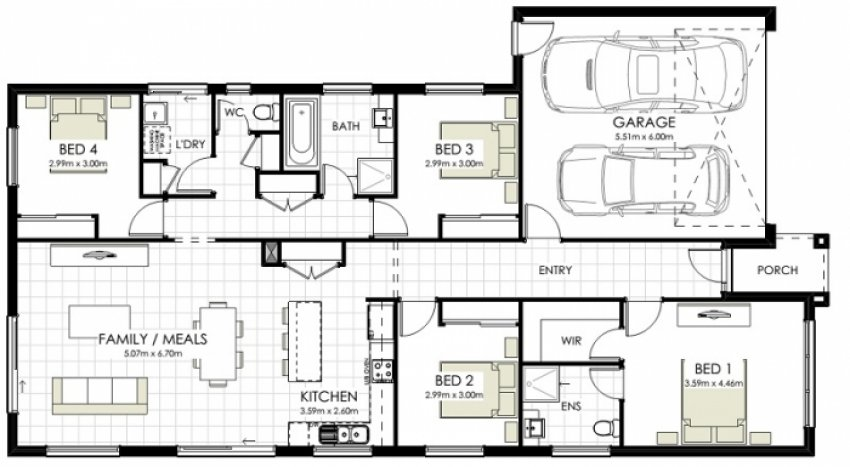 Pakenham House Floorplan