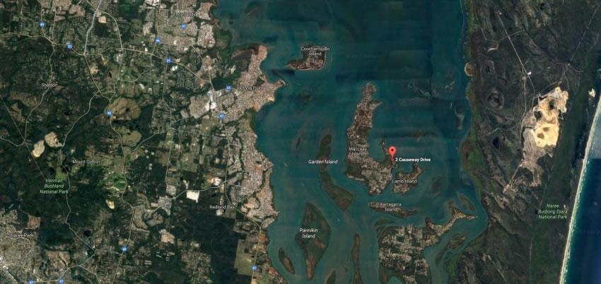Waterfront Land Macleay Island